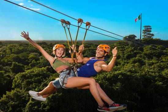 Xplor Adventure All Inclusive from Playa del Carmen