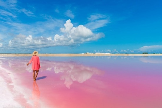 Las Coloradas from Cancun