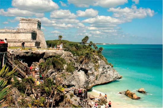 Tulum- Coba - Cenote & Playa del Carmen from Cancun