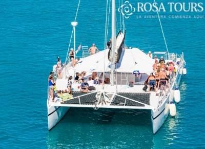 Isla Mujeres en Catamarán sin transportación