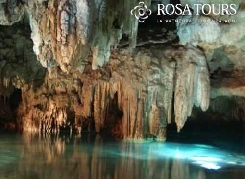 Tres Cenotes: Caverna y Semiabierto