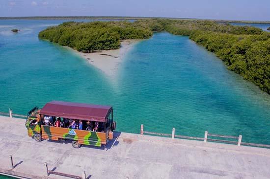 Sian Ka an desde Playa del Carmen y Riviera Maya - Runners Truck