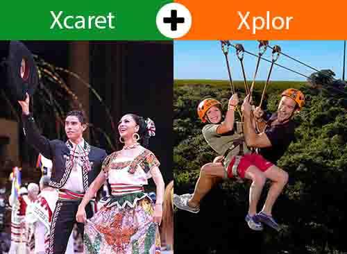 Xcaret Plus + Xplor desde Cancún