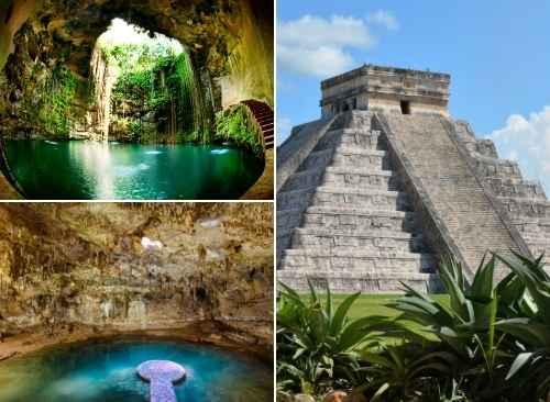 Chichen Itzá, Cenote Ik kil / Suytun y Valladolid