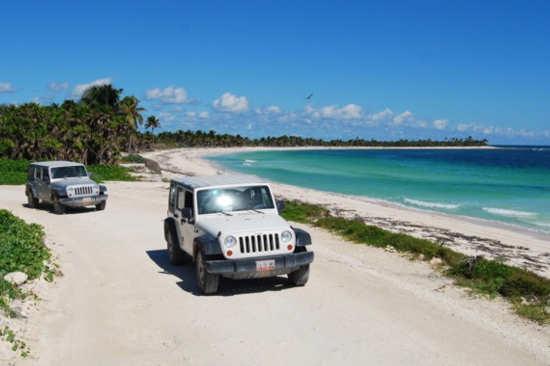 Sian Ka an en Jeep desde Playa del Carmen y Riviera Maya