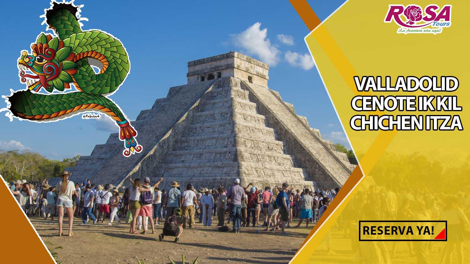 Chichen Itzá Equinoccio 2019 (21 de Marzo)&IN