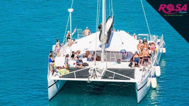 Tour Isla Mujeres en Catamarán desde Playa del Carmen