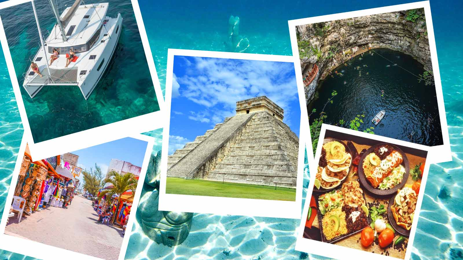Chichen Itza + Isla Mujeres / 2 Dias - 2 Tours