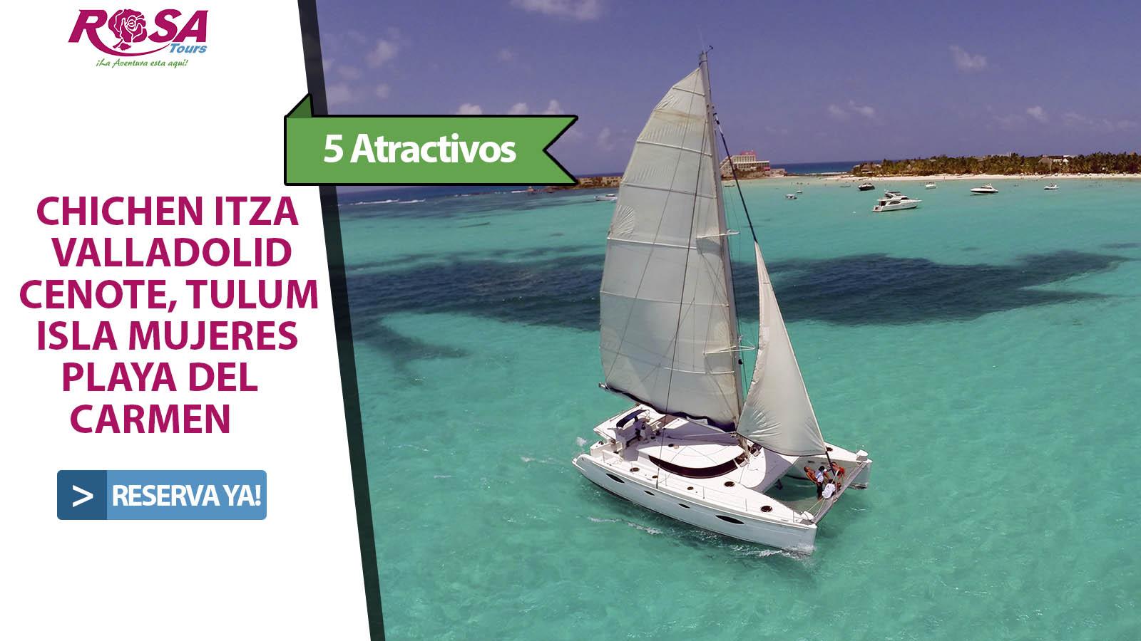 Chichen Itzá + Tulum + Playa del Carmen e Isla Mujeres plus