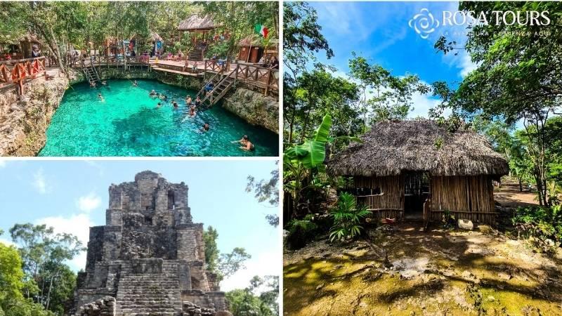 Tour Tulum-Muyil-Cenote y Aldea Maya