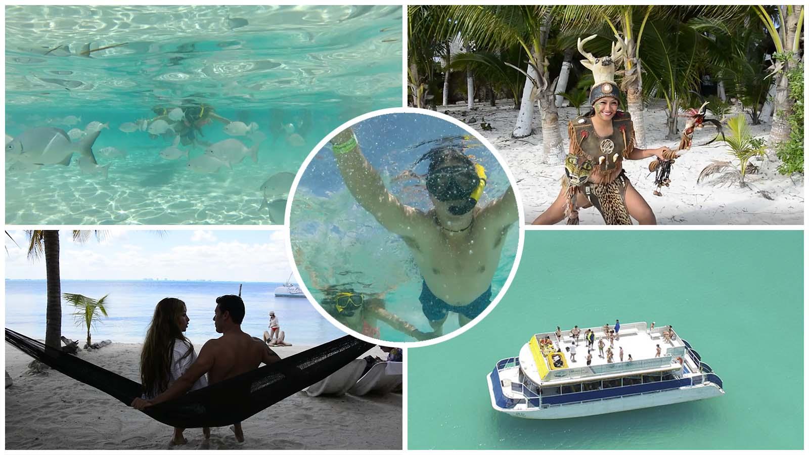 Tour Isla Mujeres playa norte desde Cancún