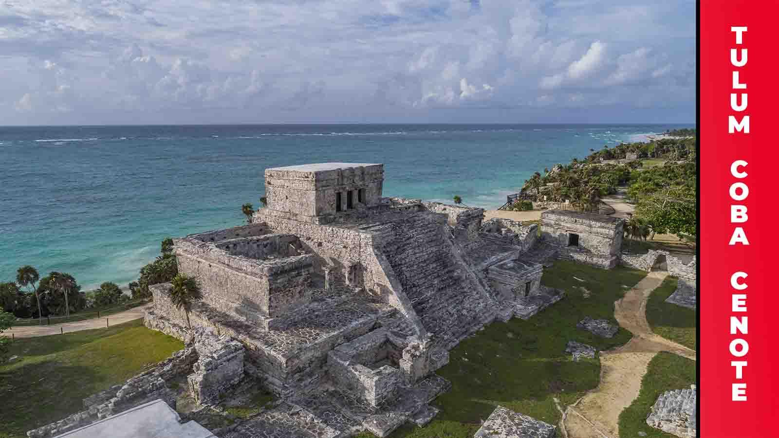 Tulum - Coba - Cenote y Playa del Carmen desde Cancún