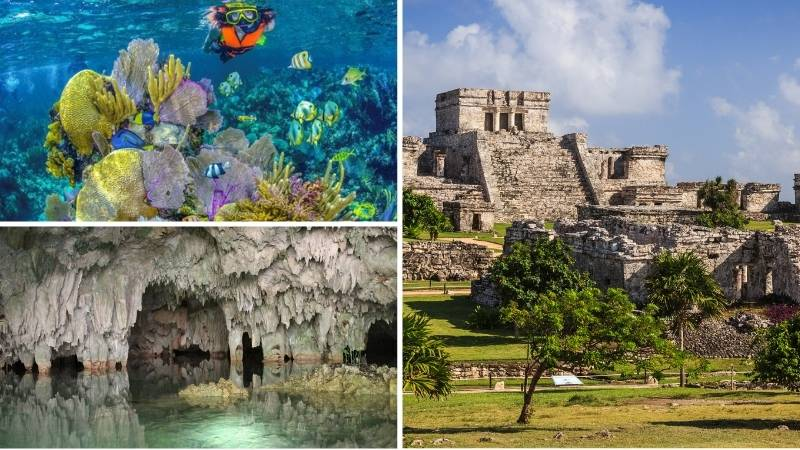 Tour Tulum | Snorkel | Cenote Caverna