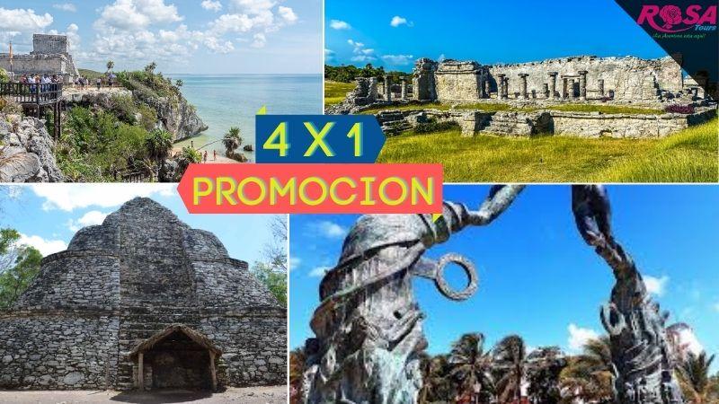 Tulum - Coba - Cenote City Tour en Playa del Carmen desde Cancún