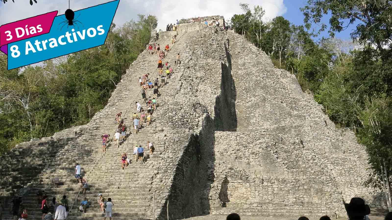 Tulum-Coba-Cenote-Playa del Carmen-Chichen Itza e Isla Mujeres