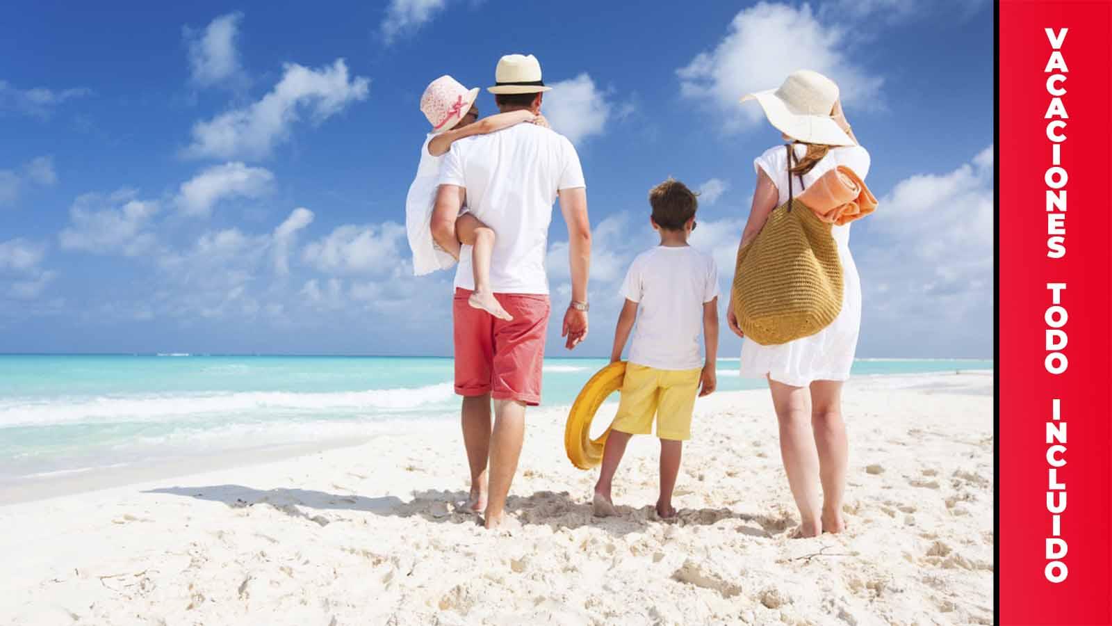 Vacaciones familiares en Cancún todo incluido