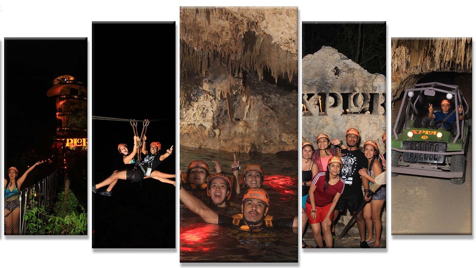 Tour Xplor Fuego desde Playa del Carmen