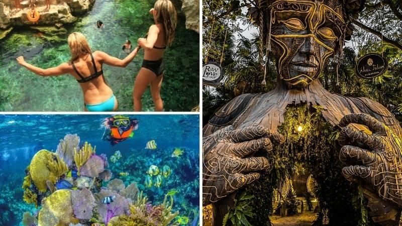Tour Snorkel Tulum   4 Cenotes   Estatua Madre Naturaleza