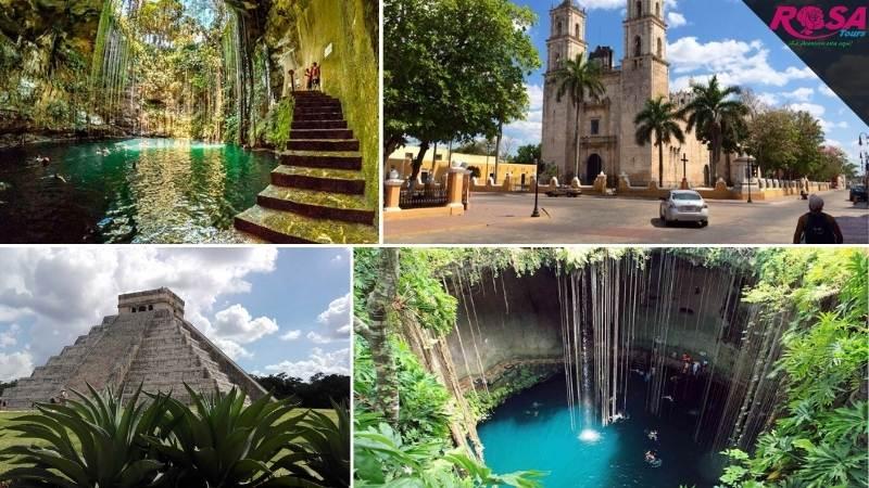 Chichen Itzá, Cenote Ik Kil / Xcajum y Valladolid