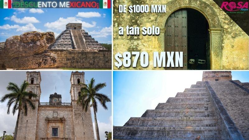 Chichen Itzá económico para Mexicanos