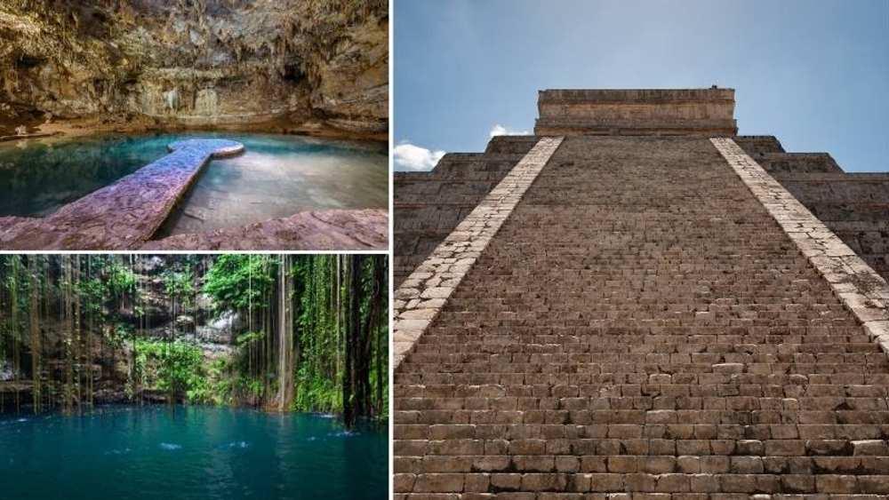 Tour Chichen Itzá, Cenote Ik kil / Suytun y Valladolid