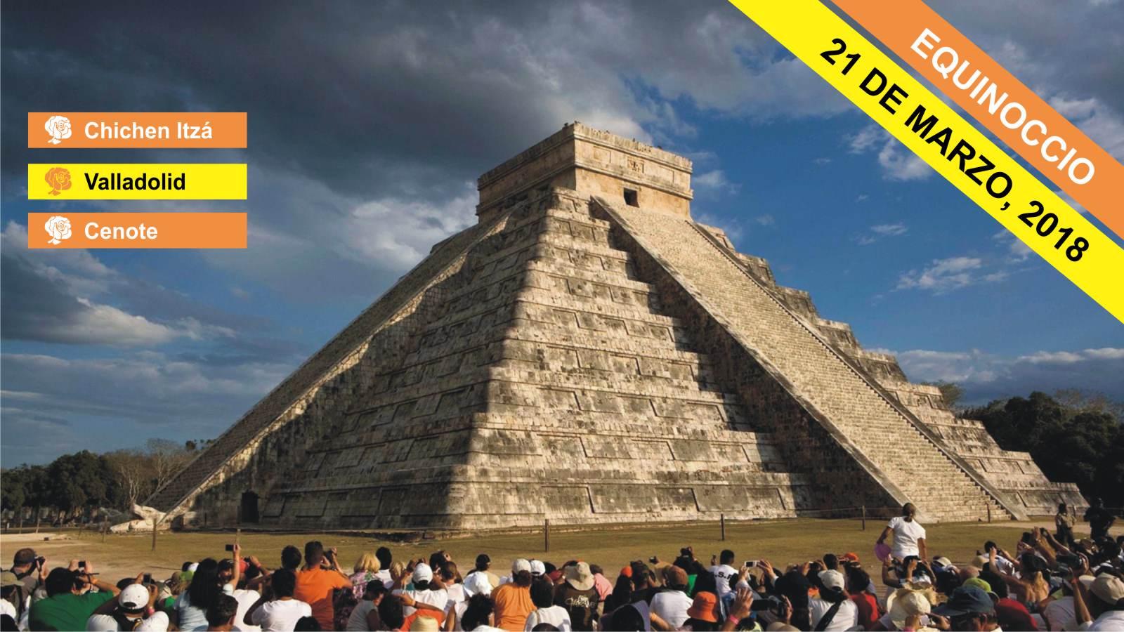 Chichen Itzá Equinoccio (21 Marzo, 2018)&IN
