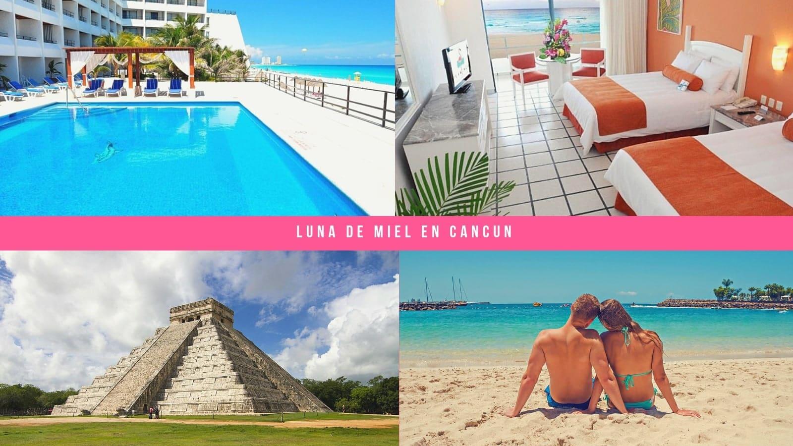 Luna de Miel en Cancún todo incluido