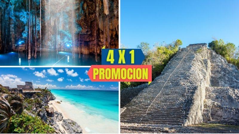 Tour Tulum - Coba - Cenote City Tour en Playa del Carmen desde Cancún